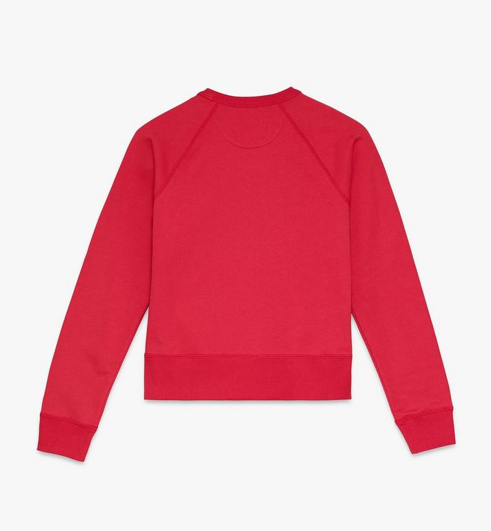 MCM Women's Year Of The Mouse Crewneck Sweatshirt Red MFAASSE03R400M Alternate View 2