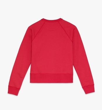 MCM Women's Chinese New Year Crewneck Sweatshirt Red MFAASSE03R400M Alternate View 2