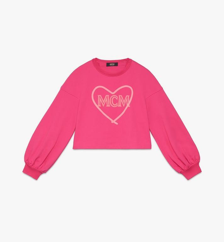 MCM 여성용 발렌타인 벌룬 슬리브 스웨터 Alternate View
