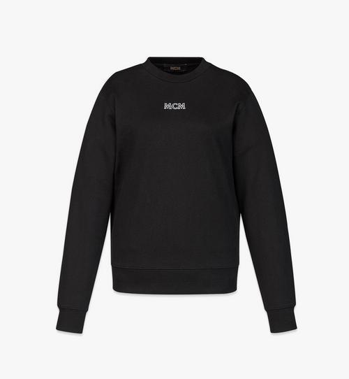 Sweat-shirt MCM Essentials à logo en coton biologique pour femme
