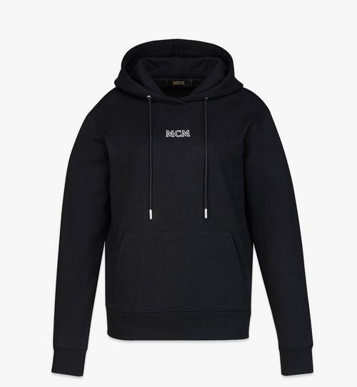 Women's MCM Basics Logo Hoodie in Organic Cotton
