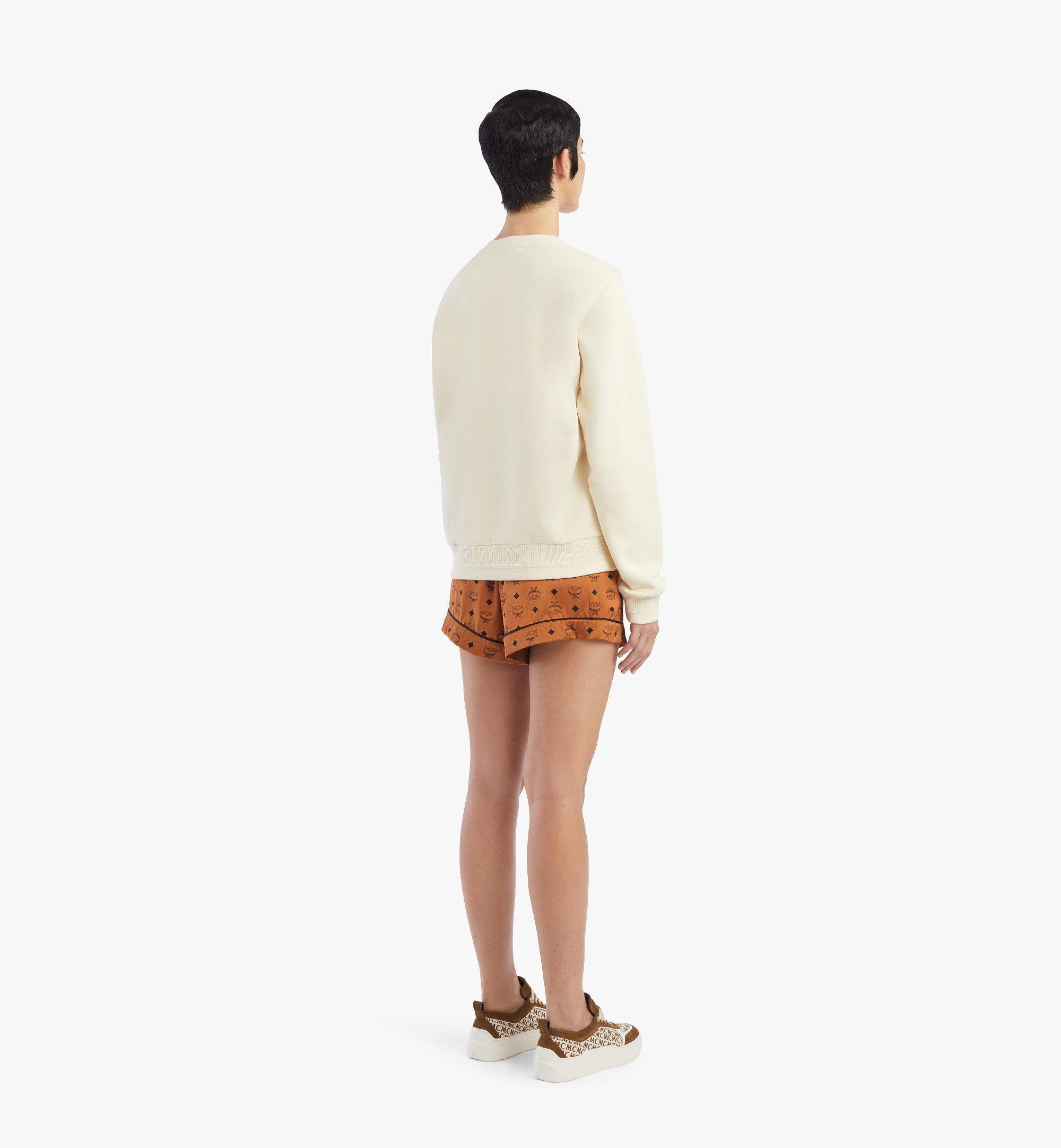 MCM 女士 Geo 月桂運動衫 White MFABSMM01IO00M 更多視圖 2
