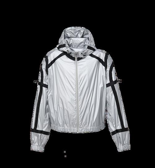 Women's Holographic Parachute Bomber Jacket