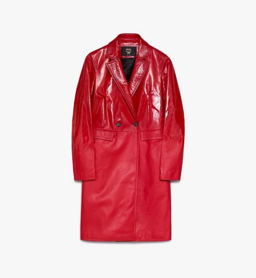 Manteau1976 en cuir pour femme