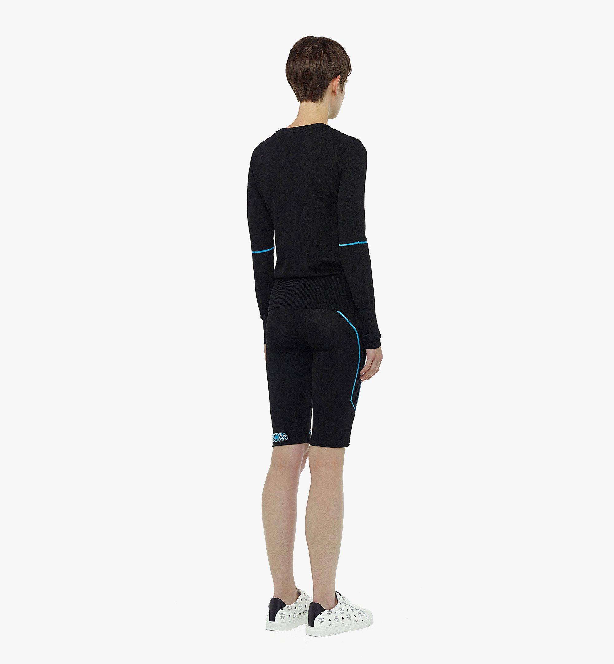 MCM Pullover mit Stricklogo für Damen Black MFEBAMM01BK00L Noch mehr sehen 2