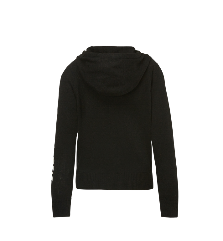 MCM Women's Cashmere Zip Hoodie Alternate View 3