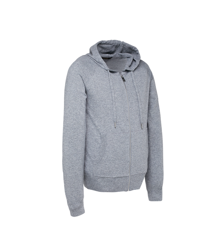 MCM Women's Cashmere Zip Hoodie Alternate View 2