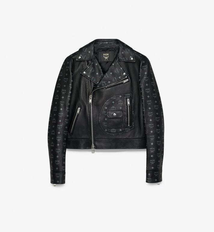 MCM Women's Rider Jacket in Visetos Alternate View