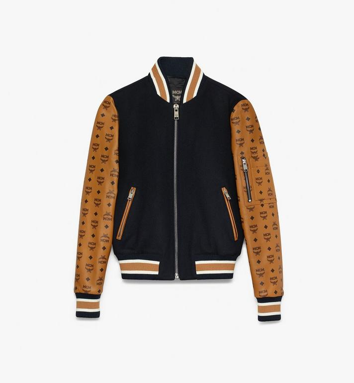 MCM Women's Bomber Jacket in Visetos Alternate View