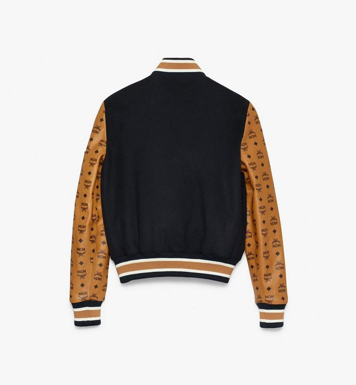 MCM Women's Bomber Jacket in Visetos Alternate View 2