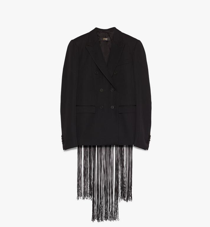 40 IT Women's Resnick Fringe Jacket Black | MCM® AT