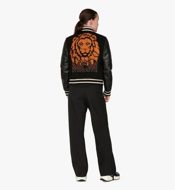 MCM 여성용 뮤닉 라이온 봄버 재킷 Black MFJ9AVU24BK040 Alternate View 4