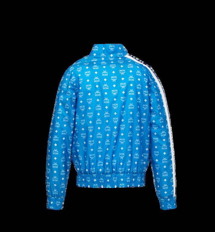MCM 여성용 비세토스 트랙 봄버 재킷 Blue MFJ9SMM06HI040 Alternate View 3