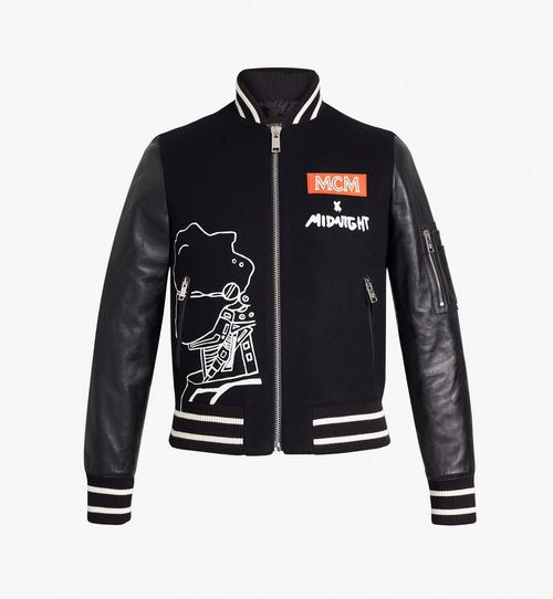 Women's MCM x Midnight Varsity Jacket