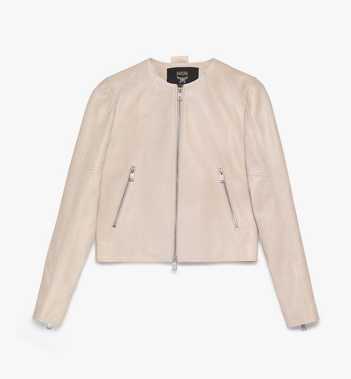 MCM Women's Leather Jacket Alternate View
