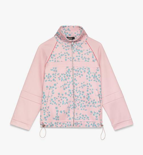 Women's Floral Leopard Print Track Jacket
