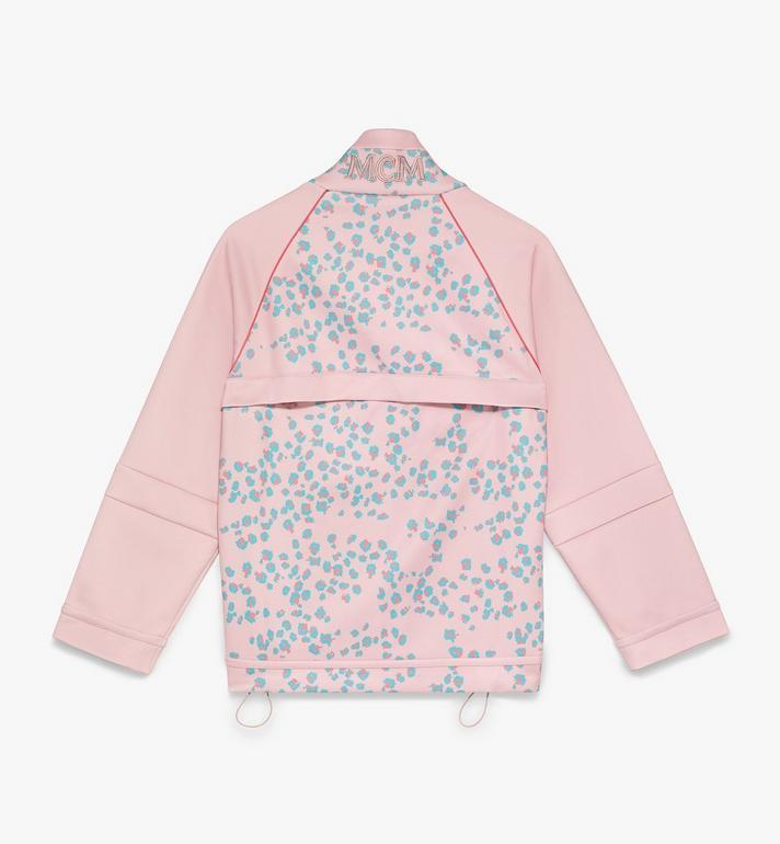 MCM Women's Floral Leopard Print Track Jacket Pink MFJASSE01QI00S Alternate View 2