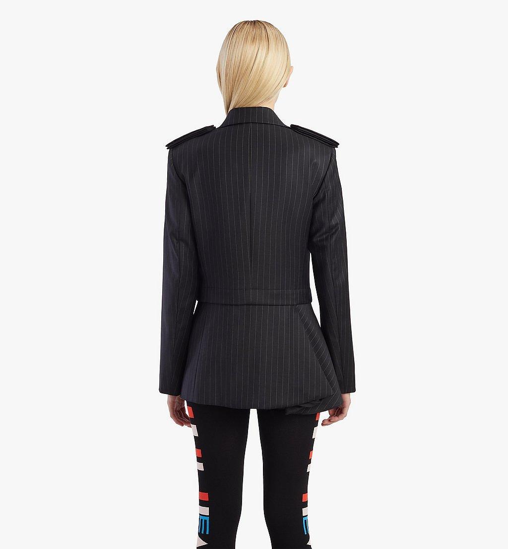 MCM Wollblazer mit Schulterpolstern für Damen Black MFJBSMM02B2038 Noch mehr sehen 6
