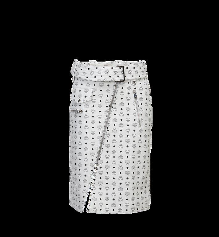 MCM Women's Leather Skirt Alternate View