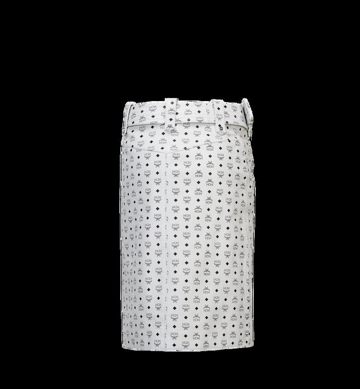 MCM Women's Leather Skirt MFK8SMM64WI00S AlternateView3