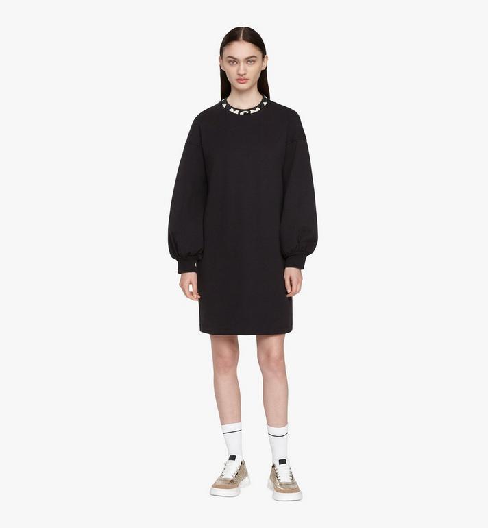 MCM Women's 1976 Sweater Dress Black MFOASMV04BT00M Alternate View 3