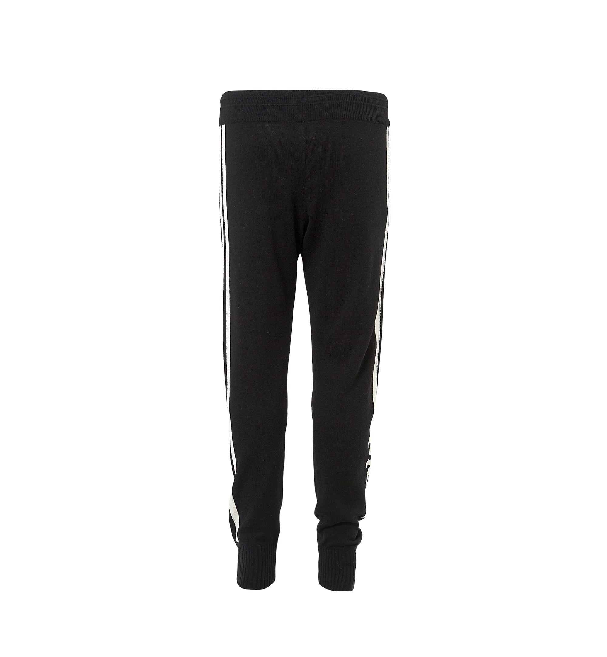 MCM Women's Cashmere Track Pants Black MFP7AMM24BK00L Alternate View 3