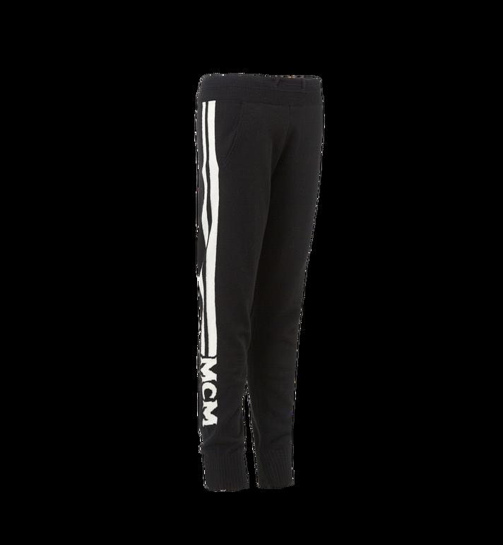 MCM Women's Cashmere Track Pants Black MFP7AMM24BK00M Alternate View 2