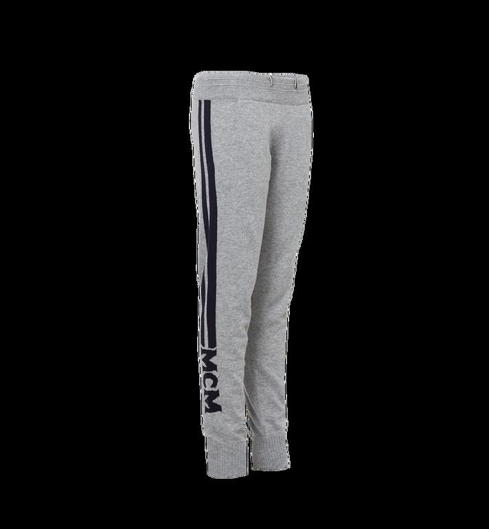 MCM Women's Cashmere Track Pants Grey MFP7AMM24EG00L Alternate View 2