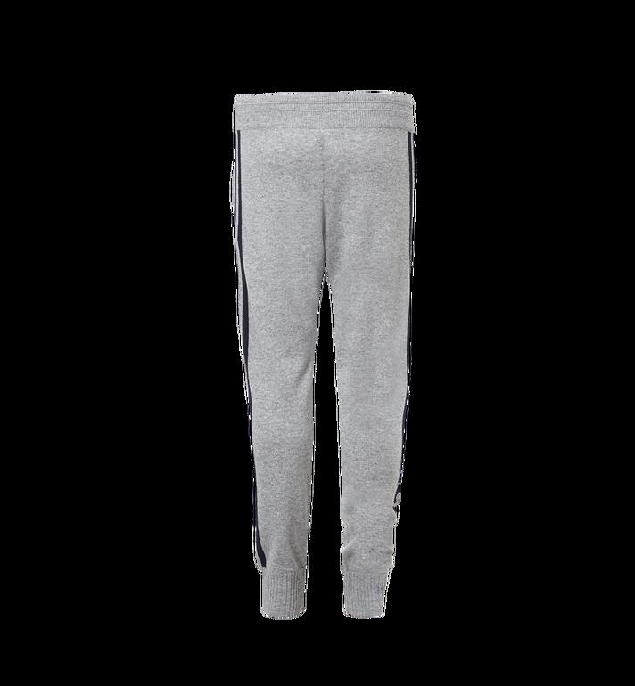 MCM Women's Cashmere Track Pants Grey MFP7AMM24EG00L Alternate View 3