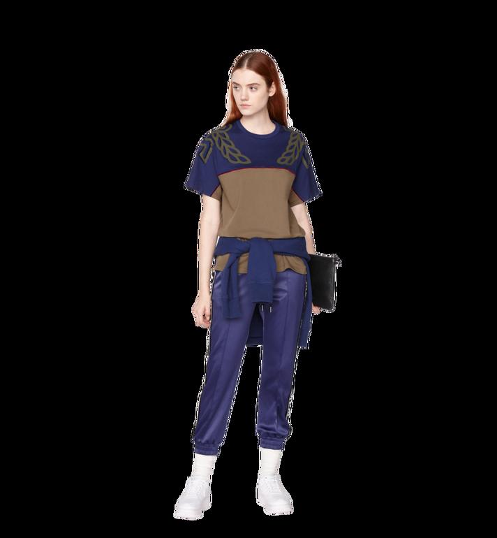 MCM Damen Jogginghose aus Satin mit Logo-Band Alternate View 4