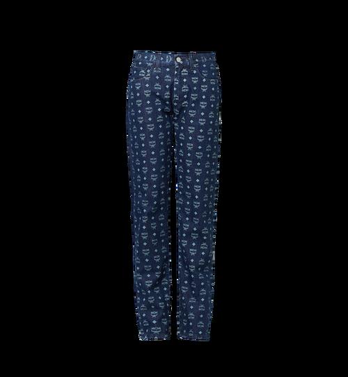 Damen Jeans in Visetos