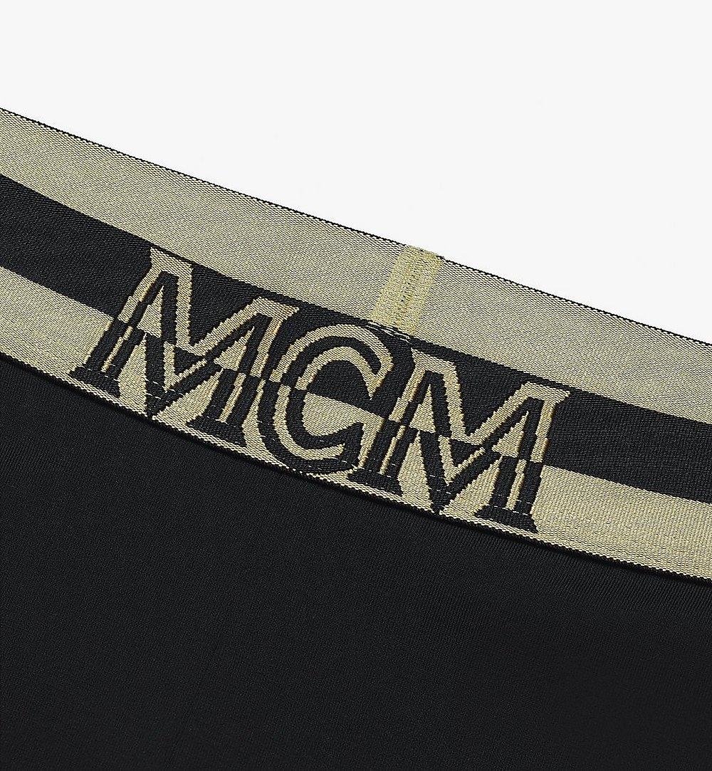 MCM Women's 1976 Leggings Black MFPASBM01BK00M Alternate View 2