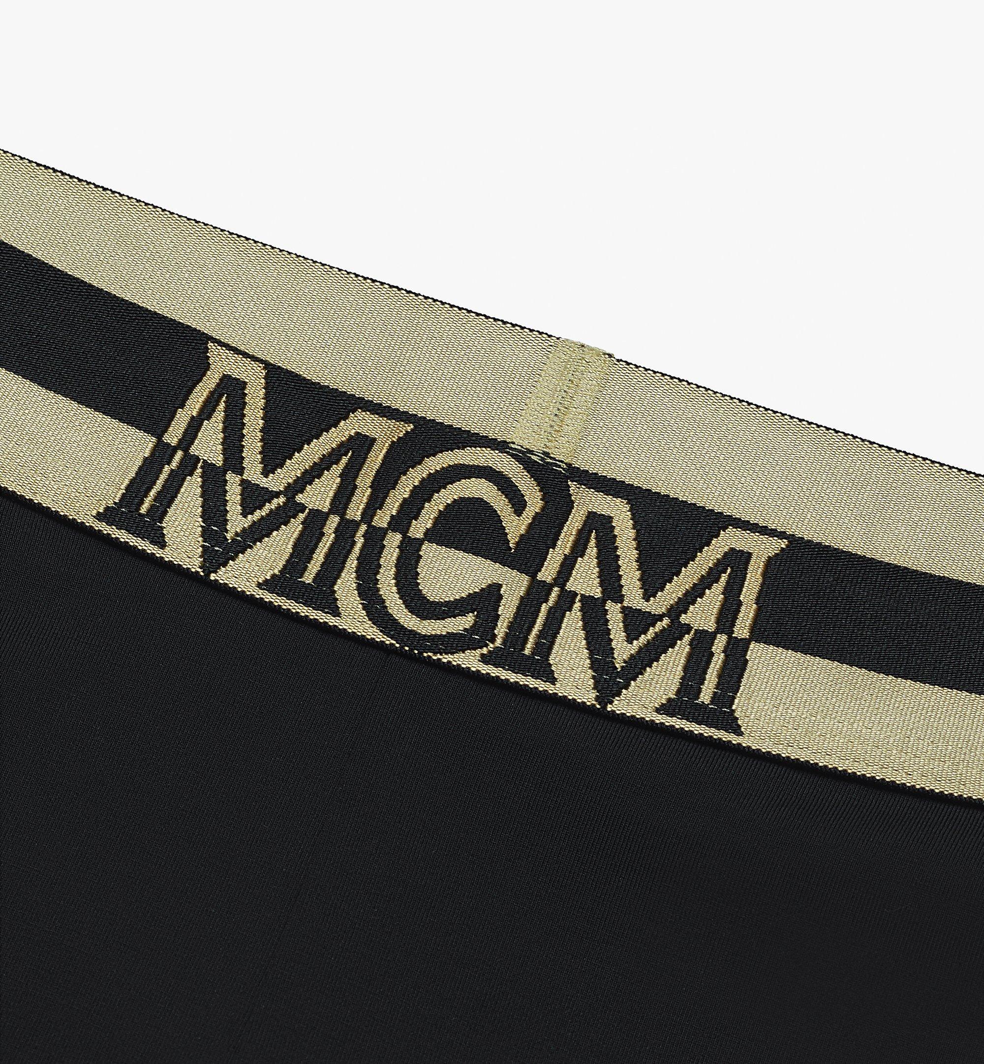 MCM Women's 1976 Leggings Black MFPASBM01BK00S Alternate View 2