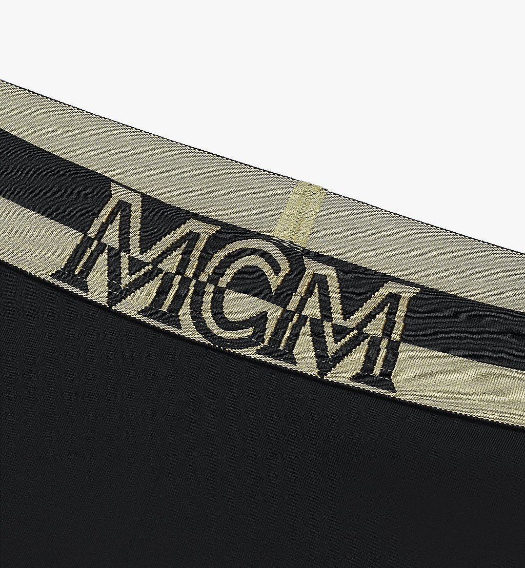 MCM Women's 1976 Leggings Black MFPASBM01BK00S Alternate View 2