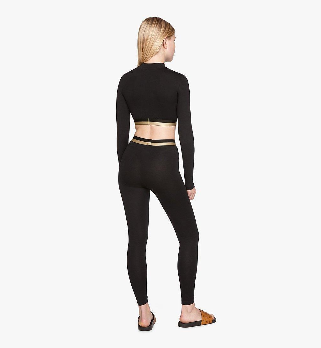 MCM 女士 1976 緊身褲 Black MFPASBM01BK00S 更多視圖 3