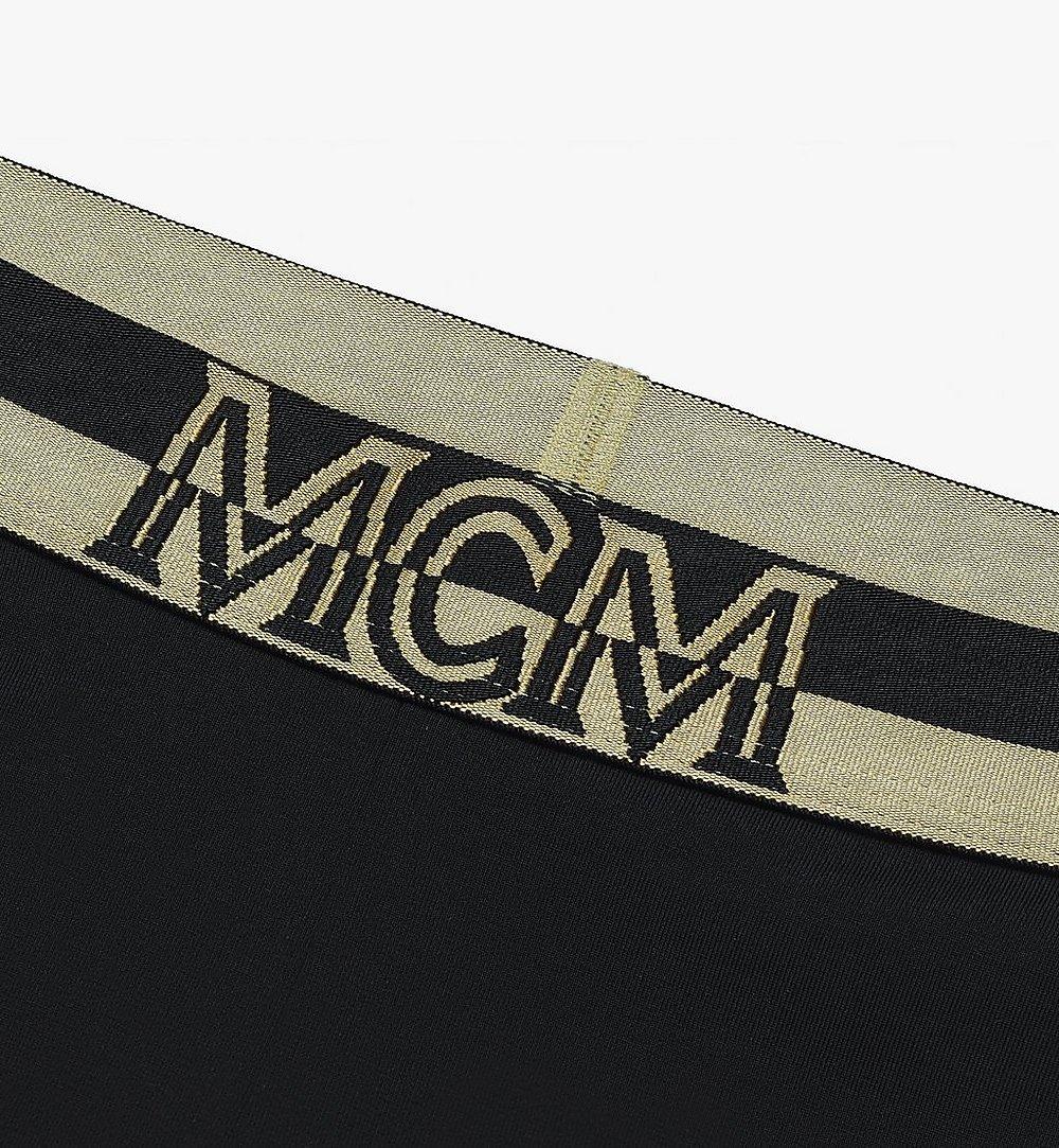 MCM 女士 1976 單車褲 Black MFPASBM02BK00L 更多視圖 2
