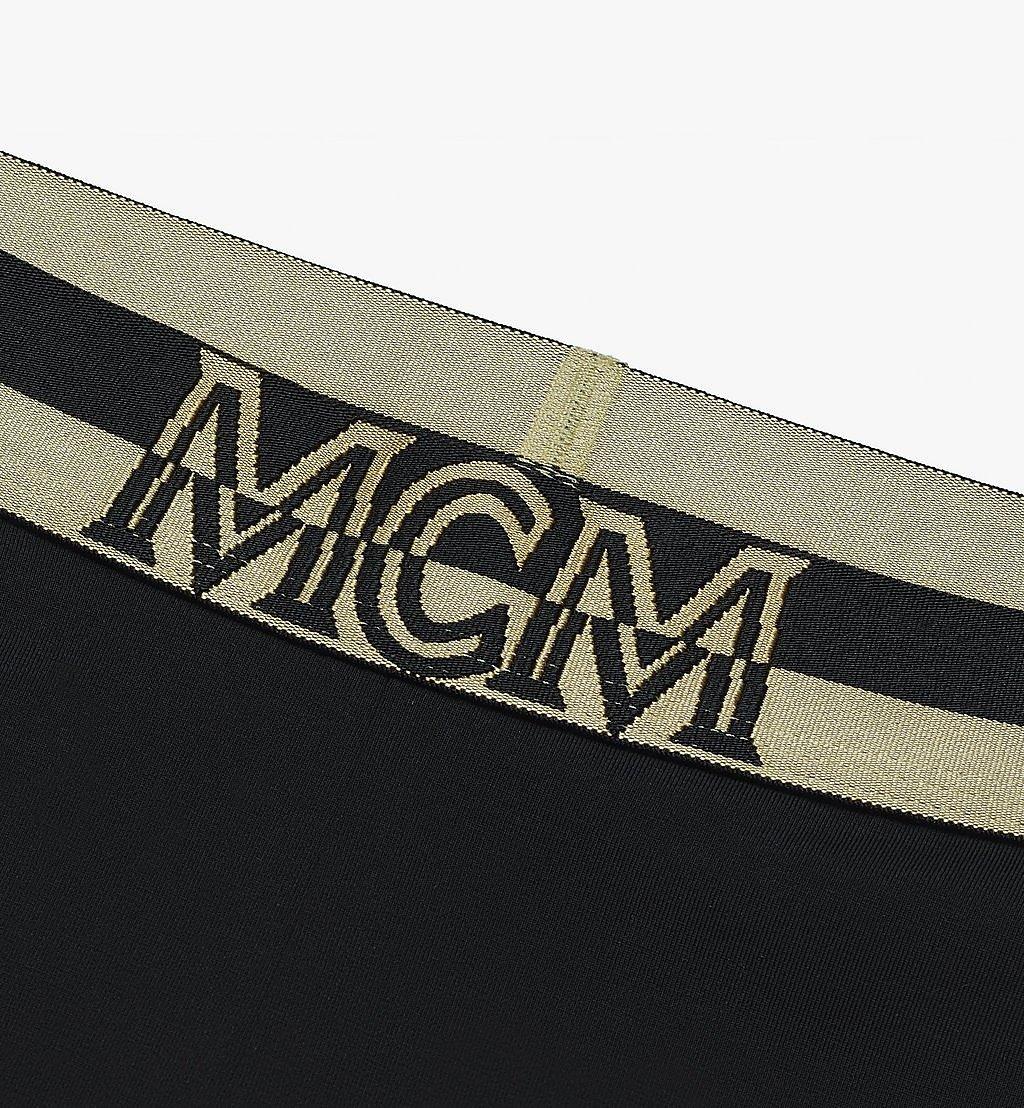 MCM Women's 1976 Cycling Shorts Black MFPASBM02BK00L Alternate View 2