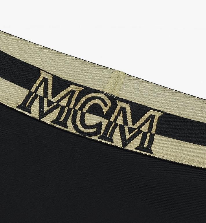 MCM Women's 1976 Cycling Shorts  MFPASBM02BK00M Alternate View 3