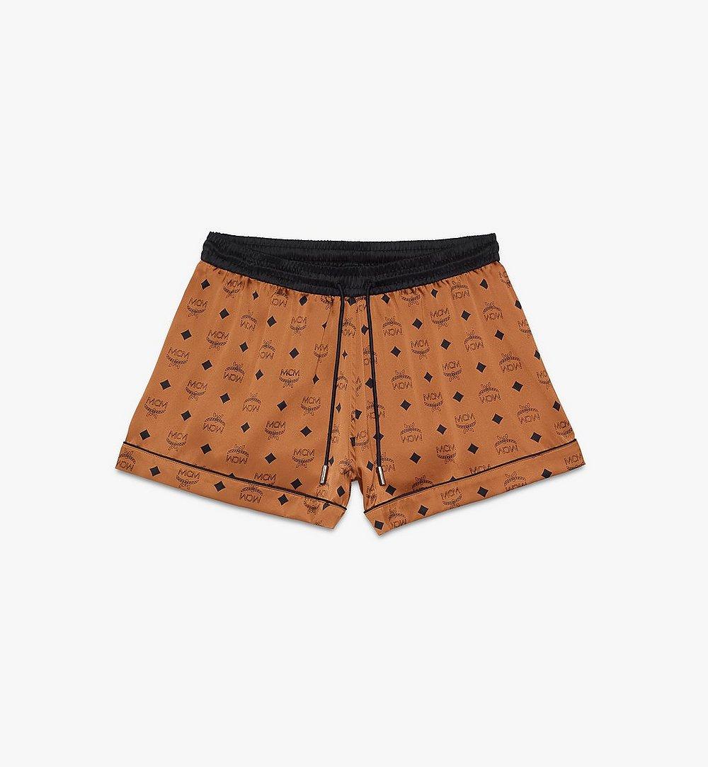MCM 女士桑蚕丝短款睡裤 Cognac MFPASBM03CO00L 更多视角 1