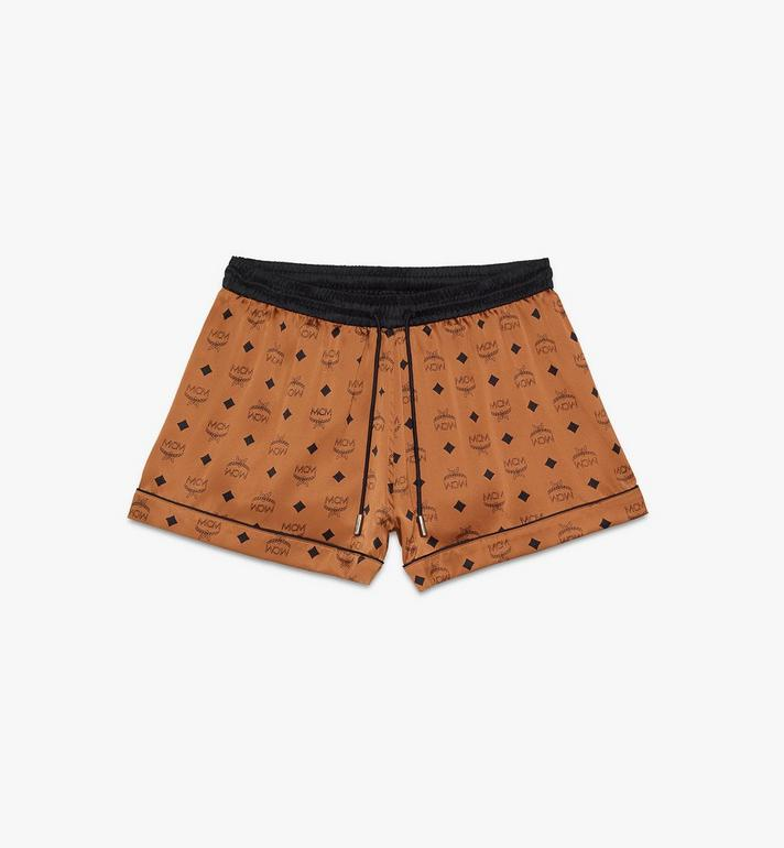 MCM Women's Silk Sleep Shorts Alternate View