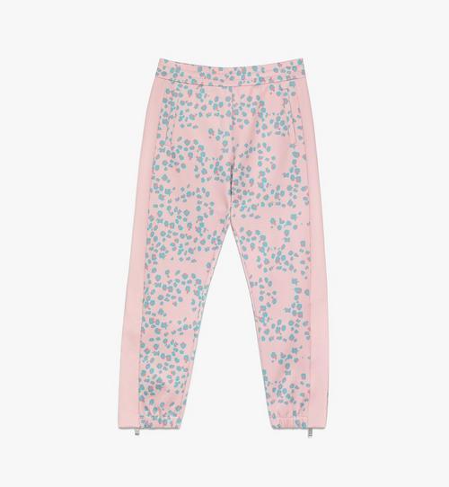 Women's Floral Leopard Print Track Pants