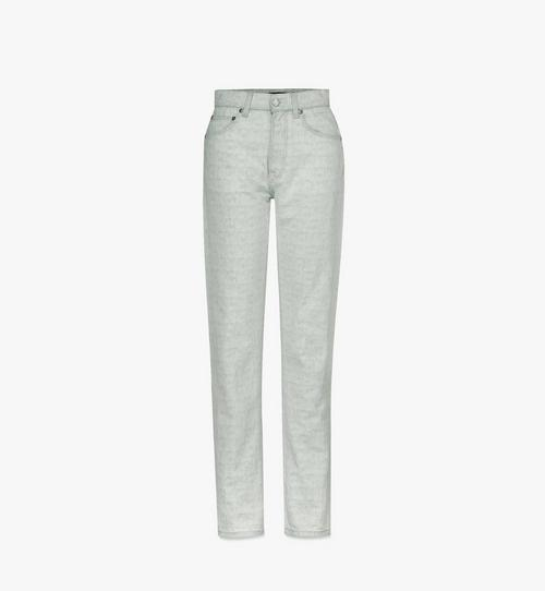Women's Monogram Denim Jeans
