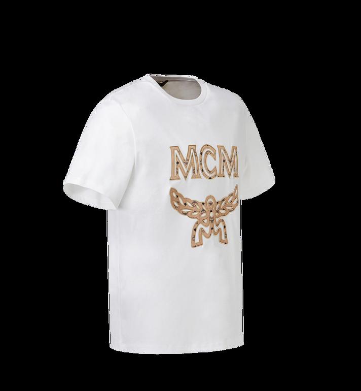 MCM レディース クラシックロゴ Tシャツ White MFT8SMM11WI00L Alternate View 2
