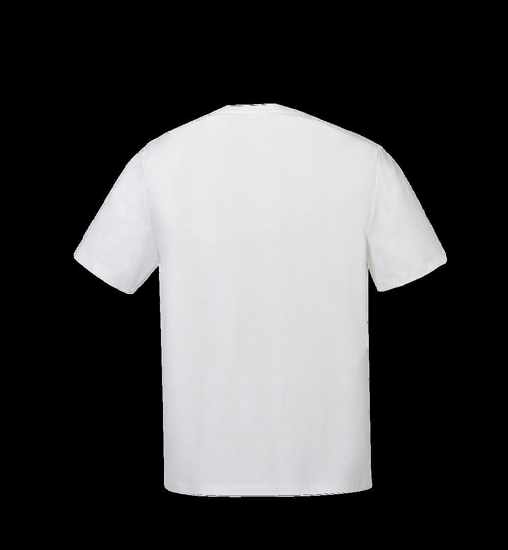 MCM 女士經典標誌 T 恤 White MFT8SMM11WI00S 更多視圖 2