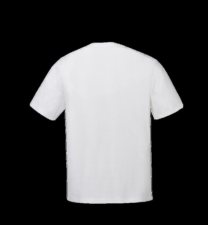 MCM レディース クラシックロゴ Tシャツ White MFT8SMM11WI00S Alternate View 3