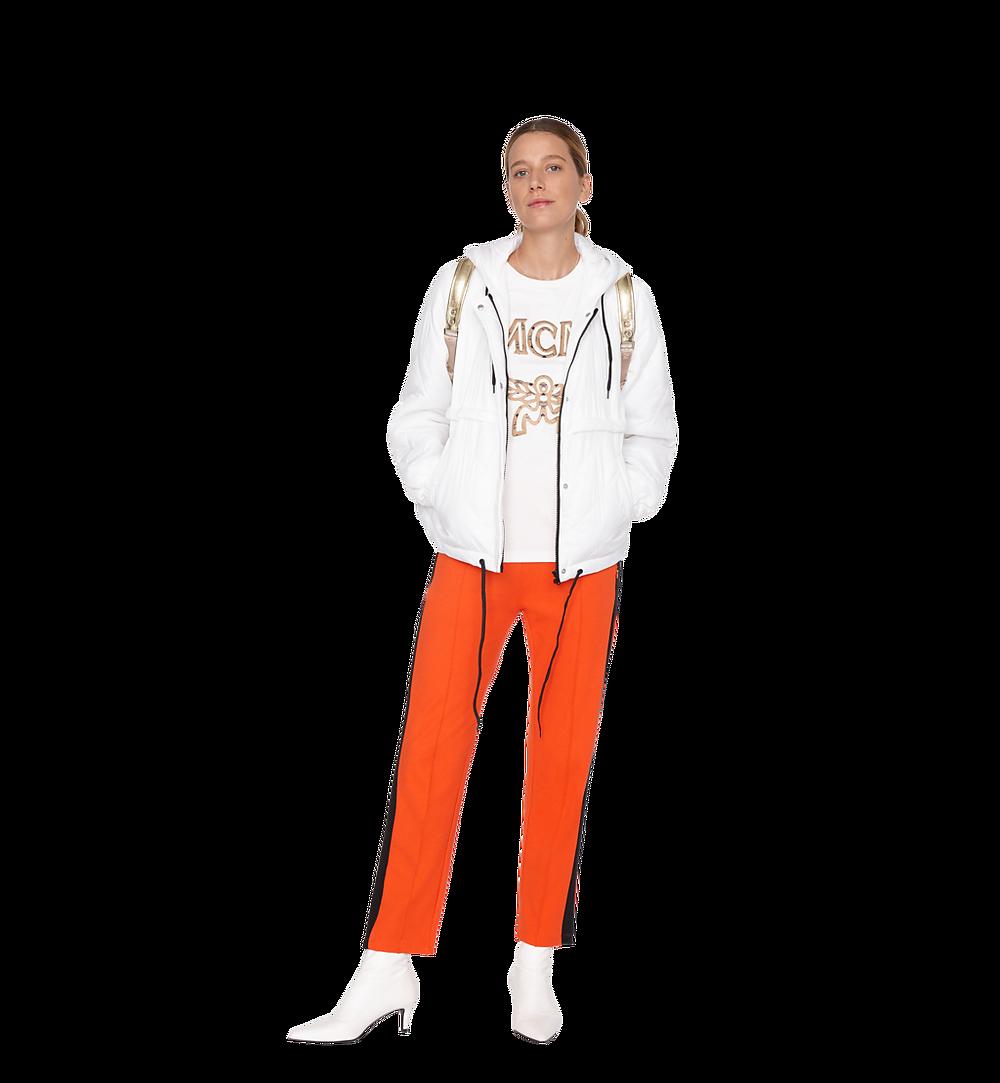 MCM เสื้อยืดโลโก้สำหรับผู้หญิง White MFT8SMM11WI00S มุมมองอื่น 2