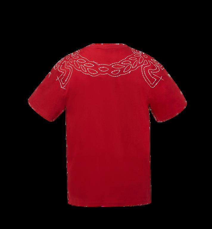 MCM Women's Laurel Stitch T-Shirt MFT8SMM22RU00S AlternateView3
