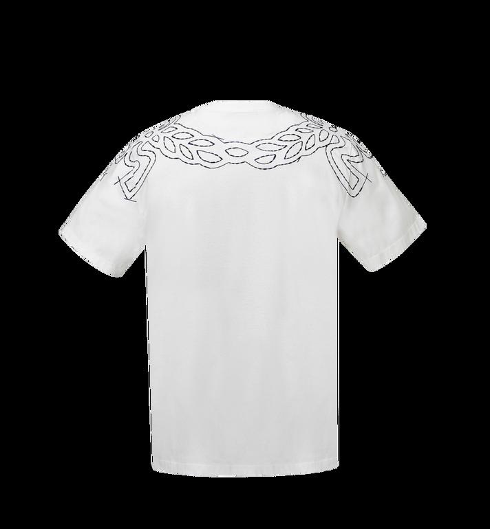 MCM Women's Laurel Stitch T-Shirt MFT8SMM22WI00M AlternateView3