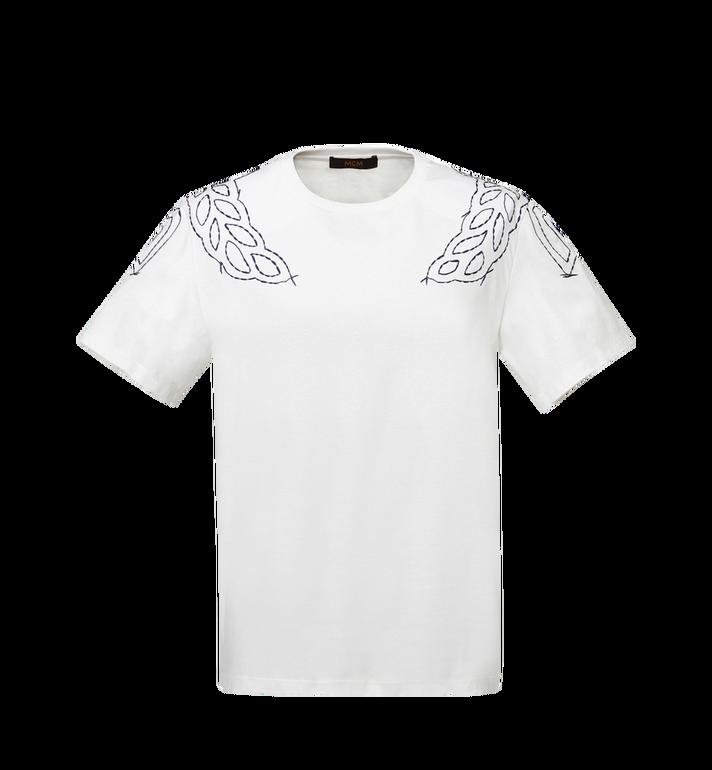 MCM Women's Laurel Stitch T-Shirt MFT8SMM22WI00S AlternateView
