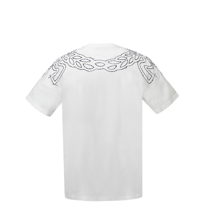 MCM Women's Laurel Stitch T-Shirt MFT8SMM22WI00S AlternateView3